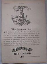 1944 Nuffield Group MG, Morris, Wolseley & Riley Original advert