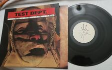 LP, Test Dept, The Unacceptable Face of Freedom, MOP 2, Made in UK, NM
