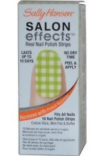 New Sally Hansen Salon Effects Real Nail Polish Strips - Checker Out