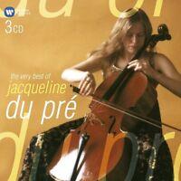 JACQUELINE DU PRE - BEST OF J.DU PRE,THE VERY (ELGAR DVORAK FAURE UVM) 3 CD NEU