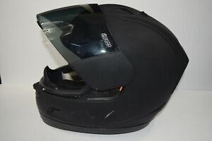 Icon Alliance FMVSS #218 Certified ECE R-22-05 Motorcycle Helmet - Black & XS