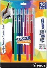 Pilot Frixion ColorSticks Erasable Gel Ink Pens Fine Point 0.7mm Assorted 10 Ct.
