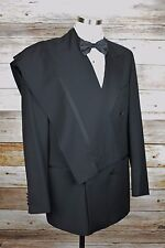 Hugo Boss Tuxedo Size 42 Tall Black Wool Super 100's #150