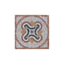 Rosoni rosone mosaico in marmo su rete per interni esterni 66x66 MAJORCA 66.23