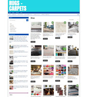 RUGS & CARPETS UK WEBSITE WITH ONE YEARS HOSTING + NEW FREE DOMAIN - ECOMMERCE