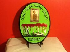 "The Walking Dead "" Sophia"" Hanging Wall Plaque"
