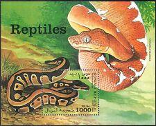 SOMALIE 1998 Royal Python/Serpent/REPTILES/animaux/FAUNE/nature 1 V M/S (b2820)