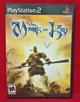Mark of Kri  -   PS2 Playstation 2 Game 1 Owner  Near Mint Disc Complete CIB
