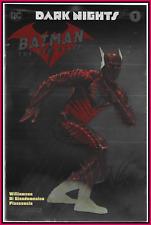 DARK NIGHTS BATMAN THE RED DEATH #1 2017 NYCC SILVER FOIL VARIANT DC 9.4 NM RARE