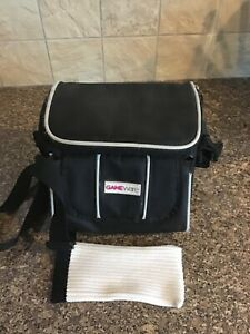 Black Original Nintendo (Gameware)  DS Kit Bag Carry Case With Strap