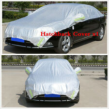 Hatchback Car Covers Sun Proof Shade Reflective Outdoor Protection Half Cover x1