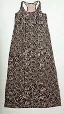Women's H&M jersey  dress black/beige color size EU 36 /UK 8 excellent condition