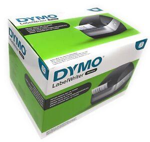 DYMO LabelWriter Wireless Etikettendrucker bis 600 dpi USB über 60 ppm schwarz