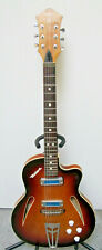defil MALWA Gitarre JAZZ-BLUES Vintage early 80ties-Made in Poland.OSTALGIE!