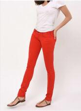 Jean Slim Rouge Coquelicot CIMARRON Mod. CASSIS  Sz 40/42 (US 32)  ** NEUF& ETKT