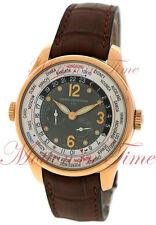"""Girard Perregaux Financial Watch """"Hours of the World"""" 41mm RG 49850-52-254-BACA"""