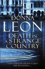 Death In A Strange Country: (Brunetti 2) di Leon, Donna libro tascabile 97800