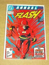 FLASH ANNUAL #1 DC COMICS 1987