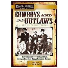 Cowboys and Outlaws (DVD, 2010, 4-Disc Set)