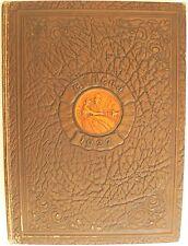 1927 yearbook The Athena Ohio University Athens Ohio college history nostagia