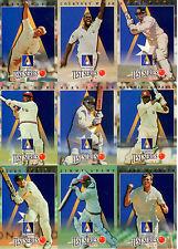 1996/97 Futera Ansett Cup Cricket Trading Card Set (10)-Rare!