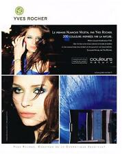 PUBLICITE ADVERTISING  2009   YVES ROCHER  couleurs nature