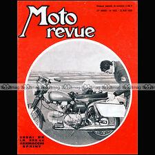 MOTO REVUE N°1955 AERMACCHI 350 SPRINT GUZZI FALCONE TRIAL SAMMY MILLER 1969