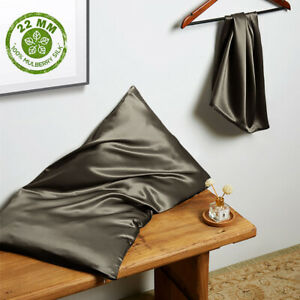 THXSILK 22 Momme Seide Kissenbezug 100% Seide Kissenbezüge mit Reißverschluss