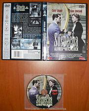 Sospecha (Suspicion) 1941 [DVD] Alfred Hitchcock, Cary Grant, Joan Fontaine.