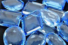 5000 Ct. Mix Shape Brazilian Blue Topaz Loose BEST OFFER Gemstone Lot