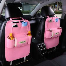 Car Auto Seat Back Multi-Pocket Storage Bag Organizer Holder Hanger Accessory Ho