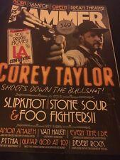 Metal Hammer Magazine 2012 Corey Taylor Slipknot Stone Sour