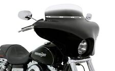 KAWASAKI VULCAN 900 VN900 CLASSIC BATWING FAIRING W/ BLACK SHIELD & CHROME MOUNT