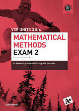 A+ Mathematical Methods Exam 2 Vce Units 3 & 4