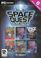 SPACE QUEST COLLECTION 6 Full Games for PC SEALED NEW