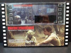 RARE Star Wars Empire Strikes Back - Jedi Training Edition 70mm Film Cels