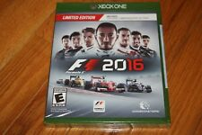 Brand New Sealed Microsoft Xbox One F1 2016 Limited Edition SHIP FREE US FAST