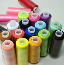 Polyester Hand 24/Lot Quilting Machine Mixed Colors Sewing Thread Spool 2016