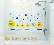 Little Duck/Bubble Bathroom Nursery/Baby/ Boy/Girl Wall paper/ Sticker/Decal