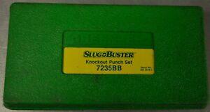 Greenlee 7235BB Slug Buster Knockout Punch Set