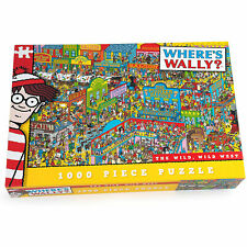 Where's Wally The Wild, Wild West 1000 Piece Puzzle *BRAND NEW*