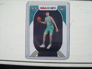 2020-21 NBA Hoops LaMelo Ball Winter Holiday Hornets Rookie # 223