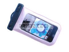 iPhone iPod Smartphone Tasche wasserdicht mit Ohrhörer-Ausgang in PINK SAMSUNG