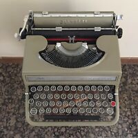 Olivetti Studio 42 Working Flawlessly Vintage 1950s Typewriter Serial N 673167