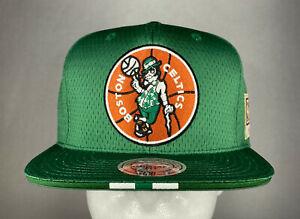 Mitchell and Ness NBA Boston Celtics Hardwood Classics Link Up Snapback Hat, New