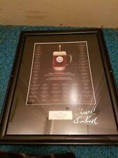 2005 Signed Jim Koch 375th Birthday Samuel Adams Beer Sign