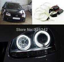 4pcs Excellent CCFL Angel Eyes kit Halo Ring For Volkswagen VW Golf 5 MK5