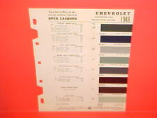 1948 CHEVROLET STYLEMASTER FLEETMASTER CONVERTIBLE FLEETLINE COUPE PAINT CHIPS
