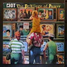 (LP) RIOT - The Privilege Of Power / VG+/VG+
