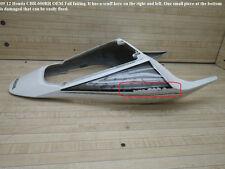 07 12 Honda CBR 600RR OEM TAIL REAR BACK FAIRING subframe cowl plastic ferring